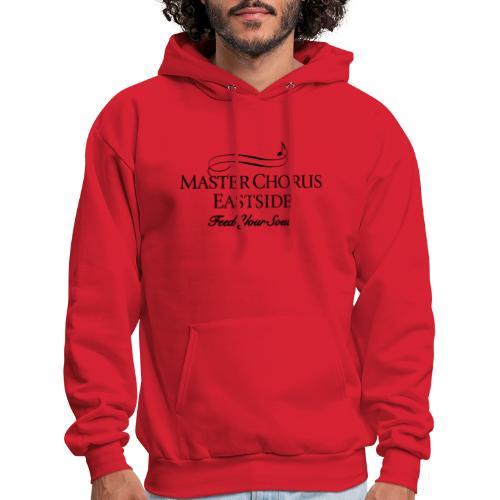 Master Chorus Eastside logo in black - Men's Hoodie