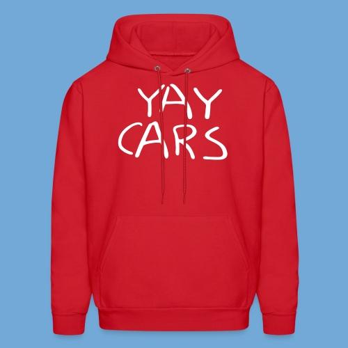 Yay cars. - Men's Hoodie