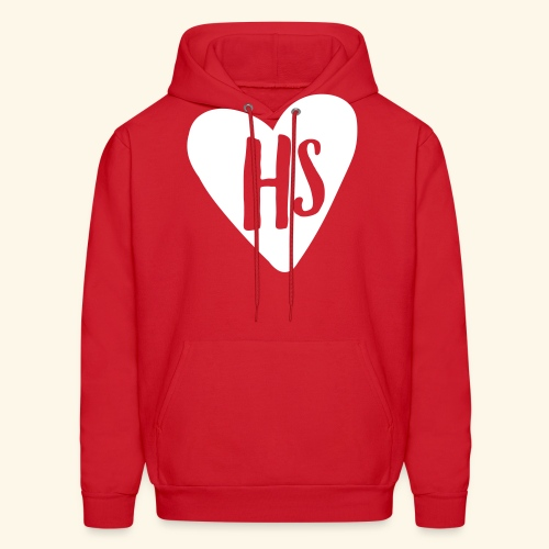 HS Heart Hoodie - Men's Hoodie