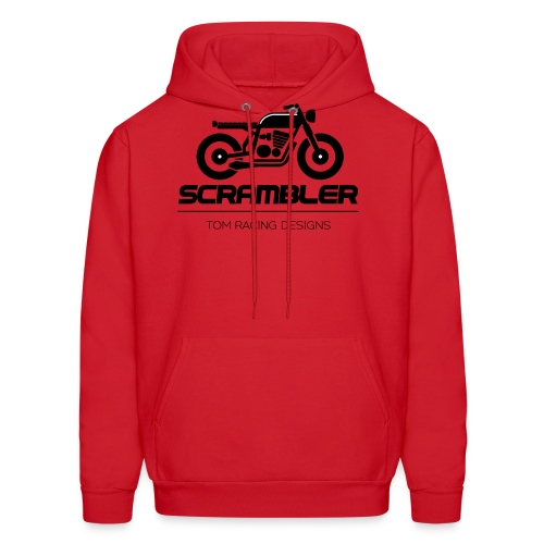 Scrambler minimalist logo - Men's Hoodie