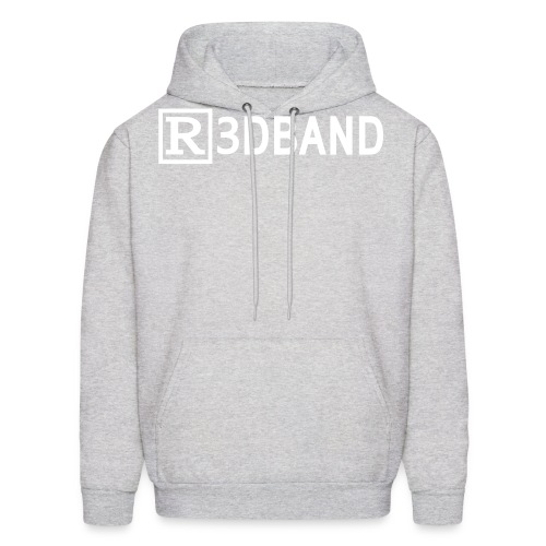 r3dbandtextrd - Men's Hoodie