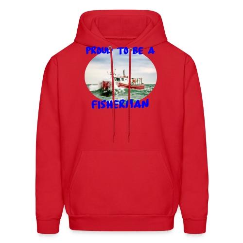 Proud To Be A Fisherman - Men's Hoodie