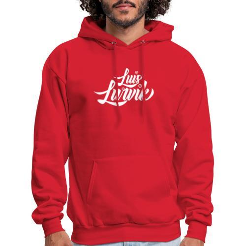 Luis Lurvik logo blanco - Men's Hoodie