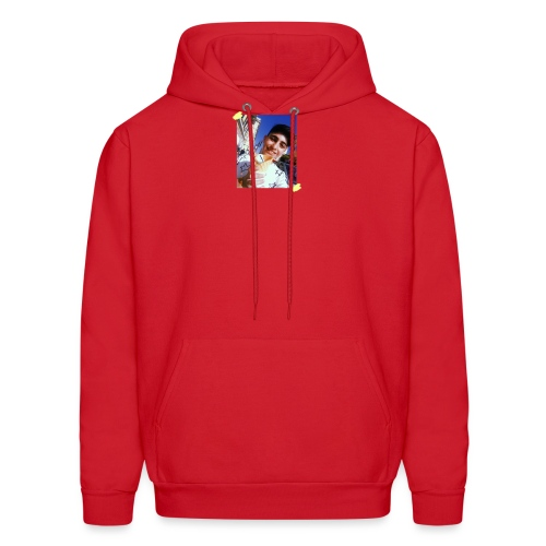 WITH PIC - Men's Hoodie