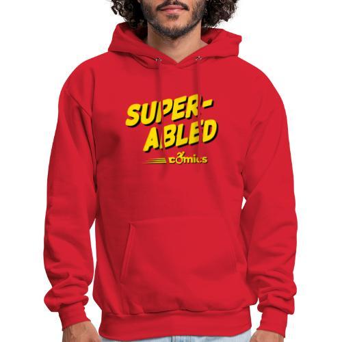 Super-Abled Comics - yellow/black - Men's Hoodie
