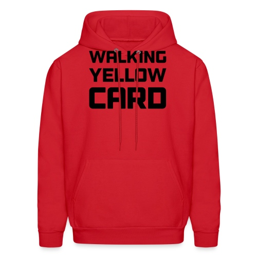 Walking Yellow Card Women's Tee - Men's Hoodie