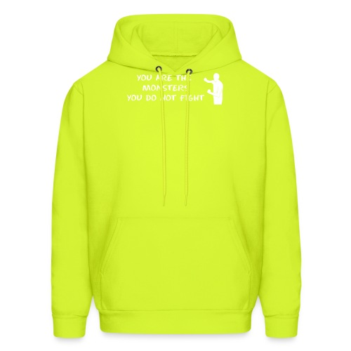 Fight Monsters - Men's Hoodie