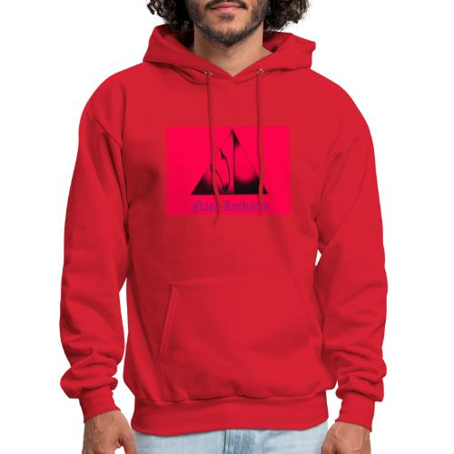 Pink Logo - Men's Hoodie