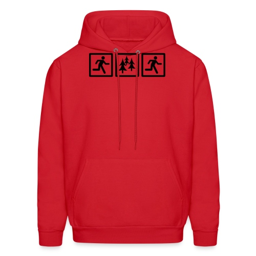 RUN FOREST RUN - Men's Hoodie