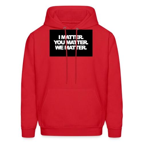 We matter - Men's Hoodie