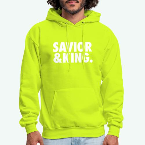 SAVIOR AND KING - Men's Hoodie