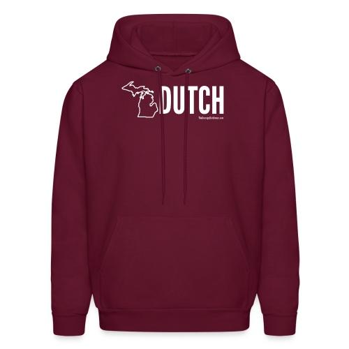 Michigan Dutch (white) - Men's Hoodie