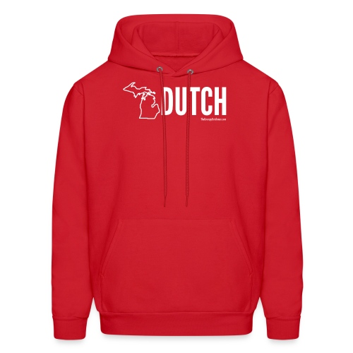 Michigan Dutch (white) - Men's Hoodie