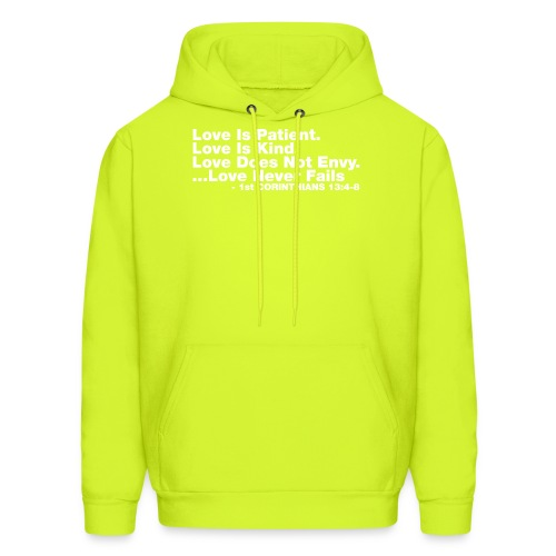 Love Bible Verse - Men's Hoodie