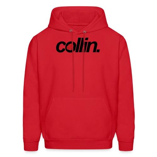 Collin. (Black w/ Rose) - Men's Hoodie