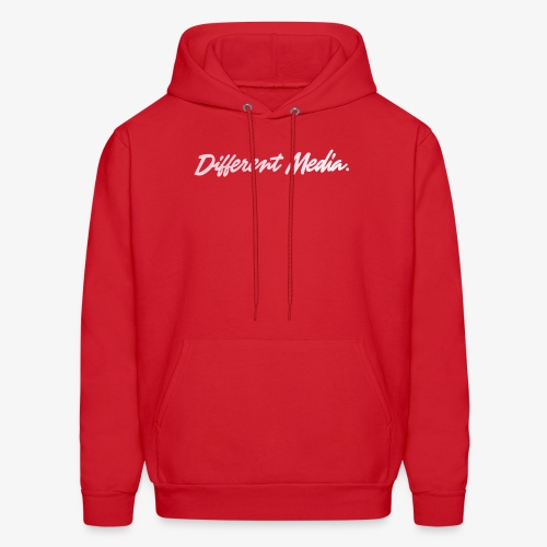different media pink png - Men's Hoodie