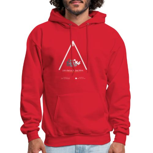 Life's better without wires: Swing - SELF - Men's Hoodie