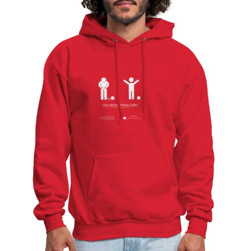 Life's better without cables: Prisoners - SELF - Men's Hoodie