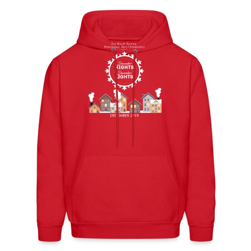 December Nights, December Lights K-5 Show Shirt - Men's Hoodie