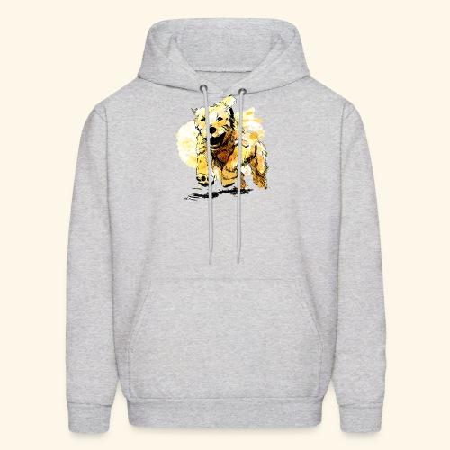 oil dog - Men's Hoodie