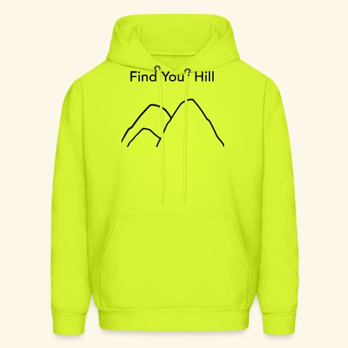 Find Your Hill - Men's Hoodie