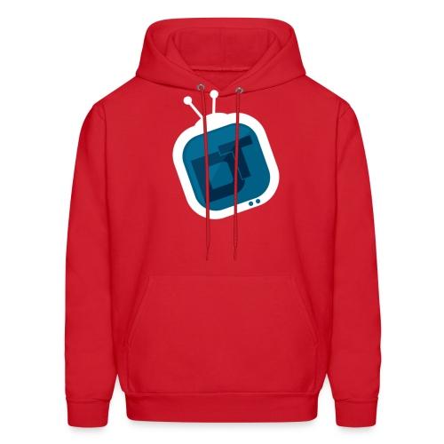dt logo 2 - Men's Hoodie