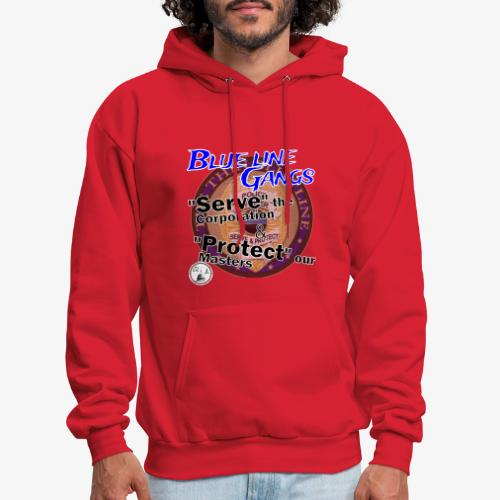 Thin Blue Line - To Serve and Protect - Men's Hoodie
