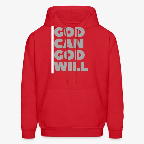 God Can, God Will - Men's Hoodie