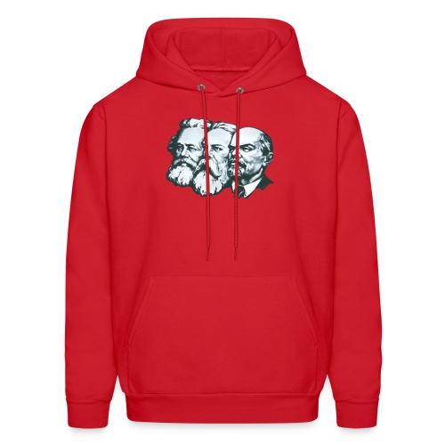 Marx, Engels and Lenin - Men's Hoodie