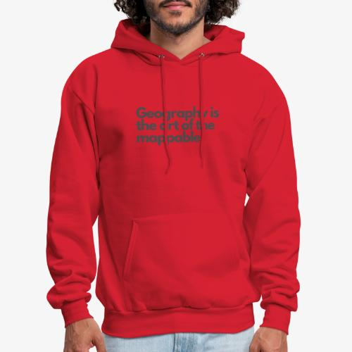 Art of the mappable! - Men's Hoodie