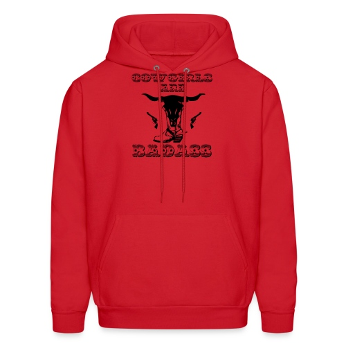 COWGIRLS ARE BADASS - Men's Hoodie
