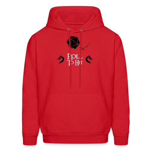 Roll to Hit - Men's Hoodie