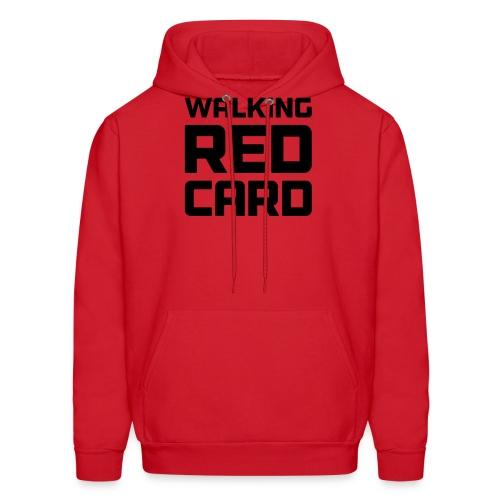 Walking Red Card - Men's Hoodie
