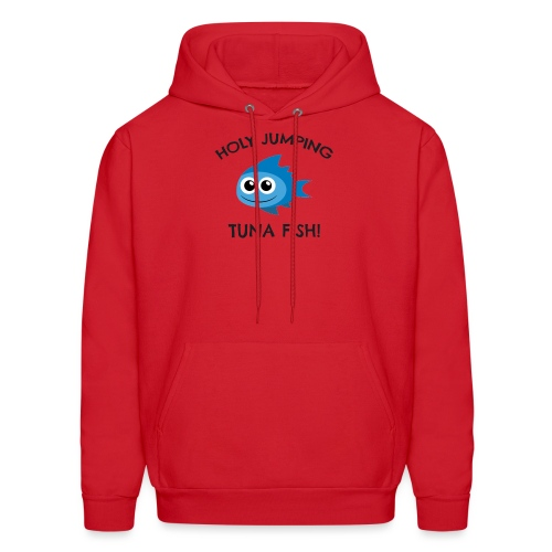 jumping tuna fish - Men's Hoodie
