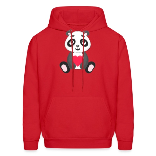 Sweetheart Panda - Men's Hoodie