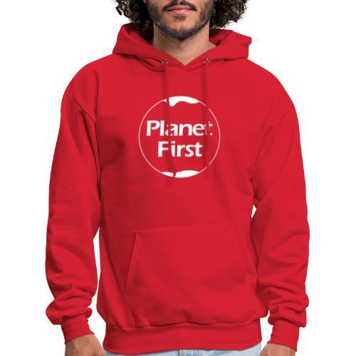 Planet First - Men's Hoodie