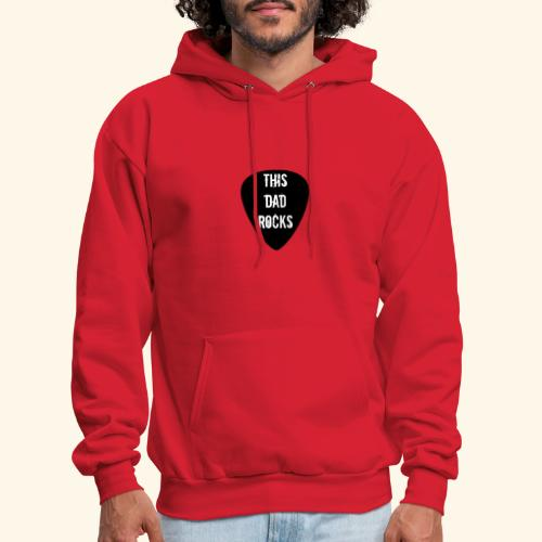 Shirt this dad rocks - Men's Hoodie