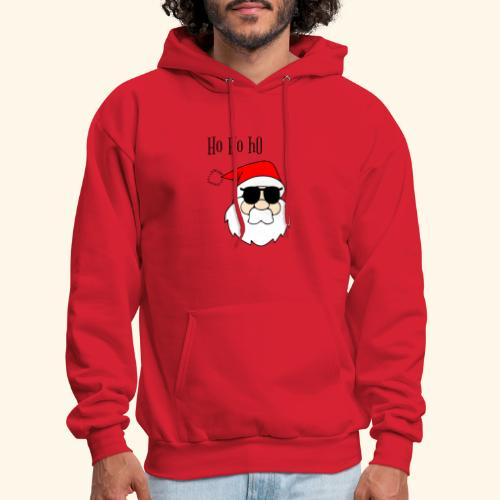 Christmas Santa HoHoHo design - Men's Hoodie