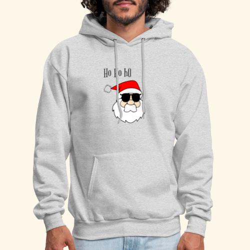 Christmas Santa HoHoHo design - Men's Hoodie