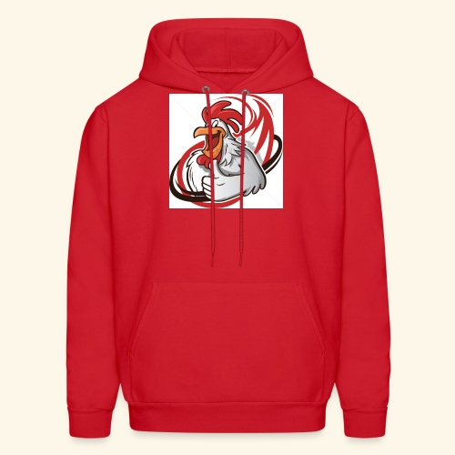 cartoon chicken with a thumbs up 1514989 - Men's Hoodie