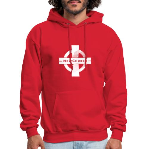 NewChurch Logo I LOVE MY CHURCH - Men's Hoodie