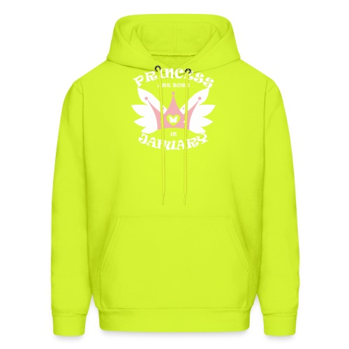 Princess Are Born In January - Men's Hoodie