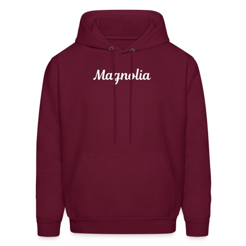 Magnolia Abstract Design. - Men's Hoodie