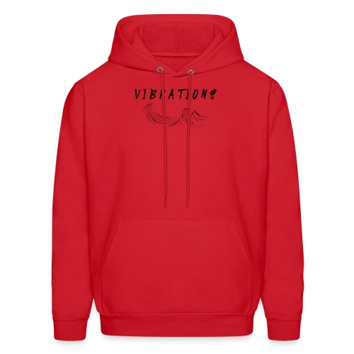 Vibrations Abstract Design - Men's Hoodie