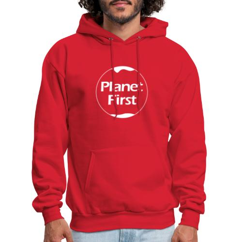 Planet First - Men's Hoodie