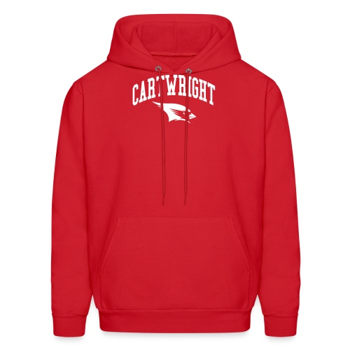 Cartwright College Logo - Men's Hoodie