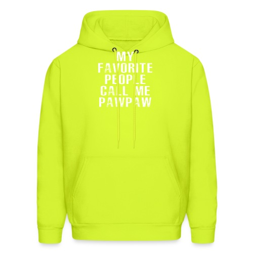 My Favorite People Called me PawPaw - Men's Hoodie