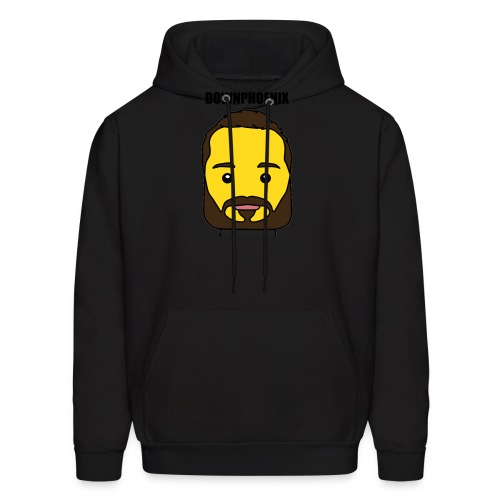 Downphoenix Face Mode - Men's Hoodie
