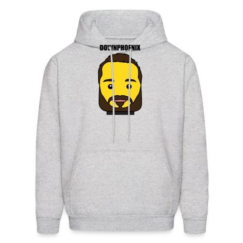 Downphoenix Face Mode - Men's Hoodie