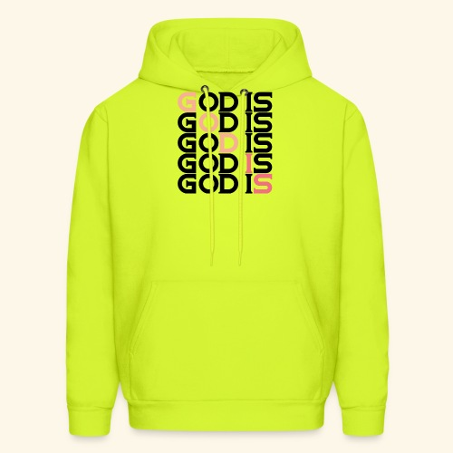 GOD IS #1 - Men's Hoodie